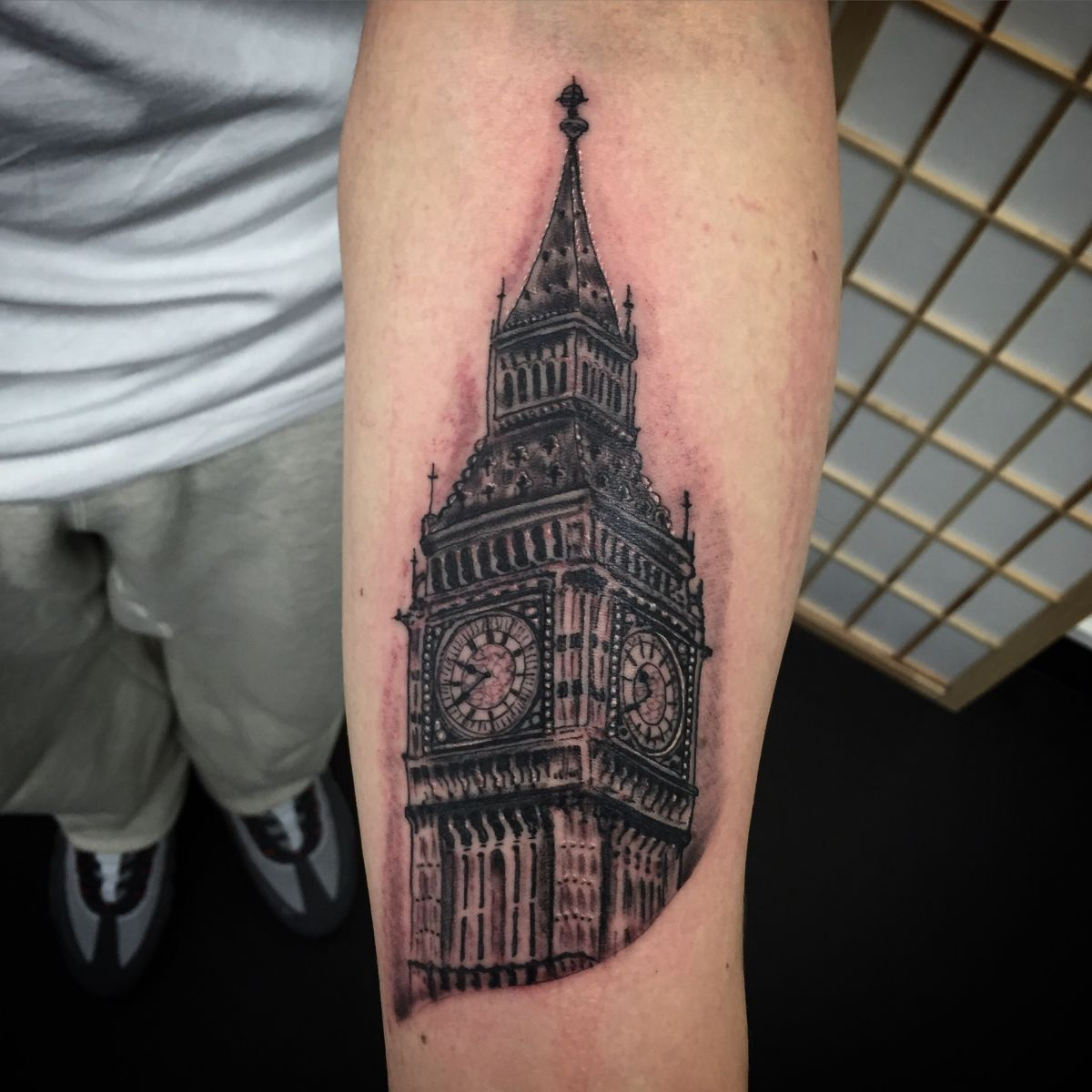 Big Ben tattoo